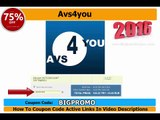 AVS4YOU Unlimited Subscription  %75 Discount Coupon Code