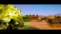 Mad Max Fury Road - Color blindness simulation - Green blind