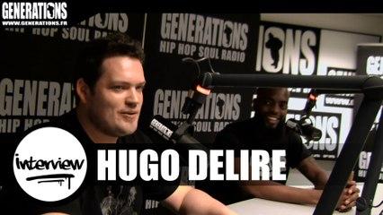 Hugo Délire - Interview #GrandDelirium (Live des studios de Generations)