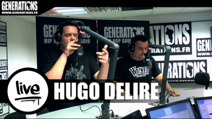 Hugo Délire - Limpide (Live des studios de Generations)