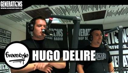 Hugo Délire - Freestyle DFAAHDKI (Live des studios de Generations)