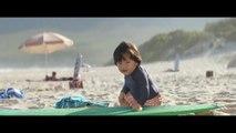 Nouvelle pub Evian avec des bébés surfeurs