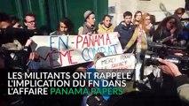 Des manifestants Nuit Debout perturbent une conférence de Florian Philippot dans une école de commerce