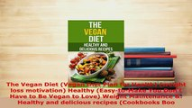 PDF  The Vegan Diet Vegan Diet Plan for Health weight loss motivation Healthy EasytoMake PDF Online