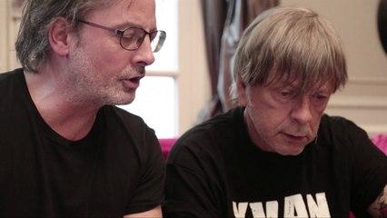 Les Tontons Fumeurs / RENAUD et Christophe Alévèque travaillent une chanson pour la Fête de la Dette