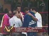 George Foreman VS Ken Norton : 24 Mars 1974.