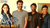Abhinetri Movie Goes on Floor || Press Meet || Prabhu Deva, Tamanna - Filmyfocus.com