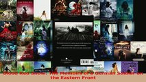 PDF  Blood Red Snow The Memoirs of a German Soldier on the Eastern Front  EBook