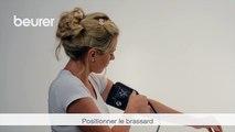 Quick start vidéo du tensiomètre à bras BM 40 de Beurer