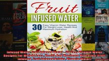 Read  Infused Water Fruit Infused Water  30 Easy Vitamin Water Recipes For Weight Loss Health  Full EBook