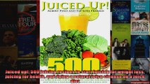 Read  Juiced up 500 juicing recipes to start juicing for weight loss juicing for health and  Full EBook