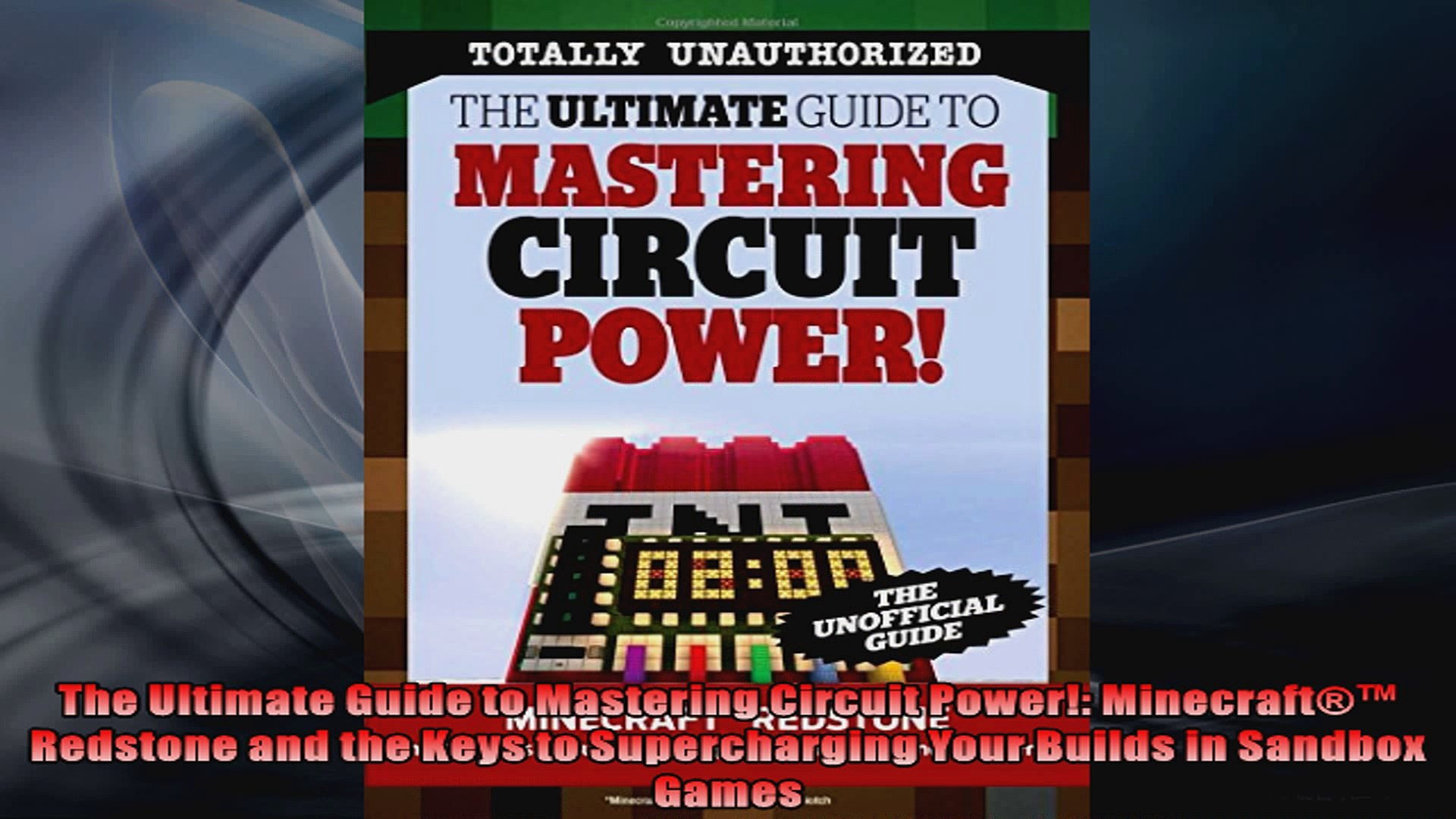 The Ultimate Guide To Mastering Circuit Power Minecraft Redstone And The Keys To