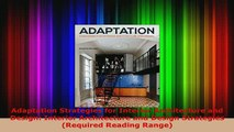 Download  Adaptation Strategies for Interior Architecture and Design Interior Architecture and Download Online