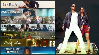 Dilwale Movie All songs