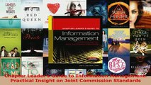 Download  Chapter Leaders Guide to Information Management Practical Insight on Joint Commission Free Books