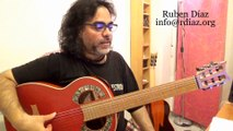 Scales sound over chords / Q & A on modern flamenco guitar / Ruben Diaz CFG Spain