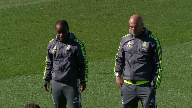 Foot - ESP - Clasico : Peur sur Zidane
