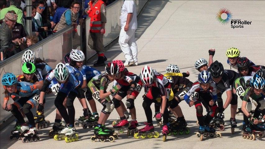 3 pistes 2016 Valence poussines F 2000m finale
