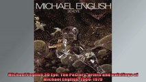 Michael English 3D Eye The Posters prints and paintings of Michael English 19661979