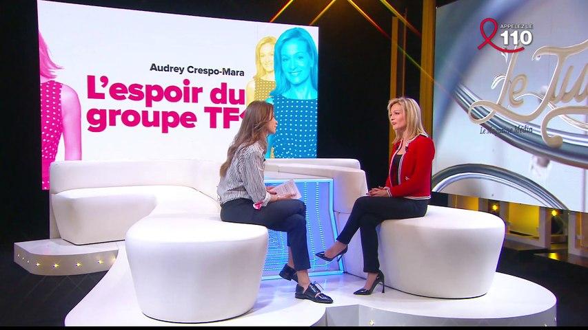 Interview de Audrey Crespo-Mara - Le Tube du 02/04 - CANAL +