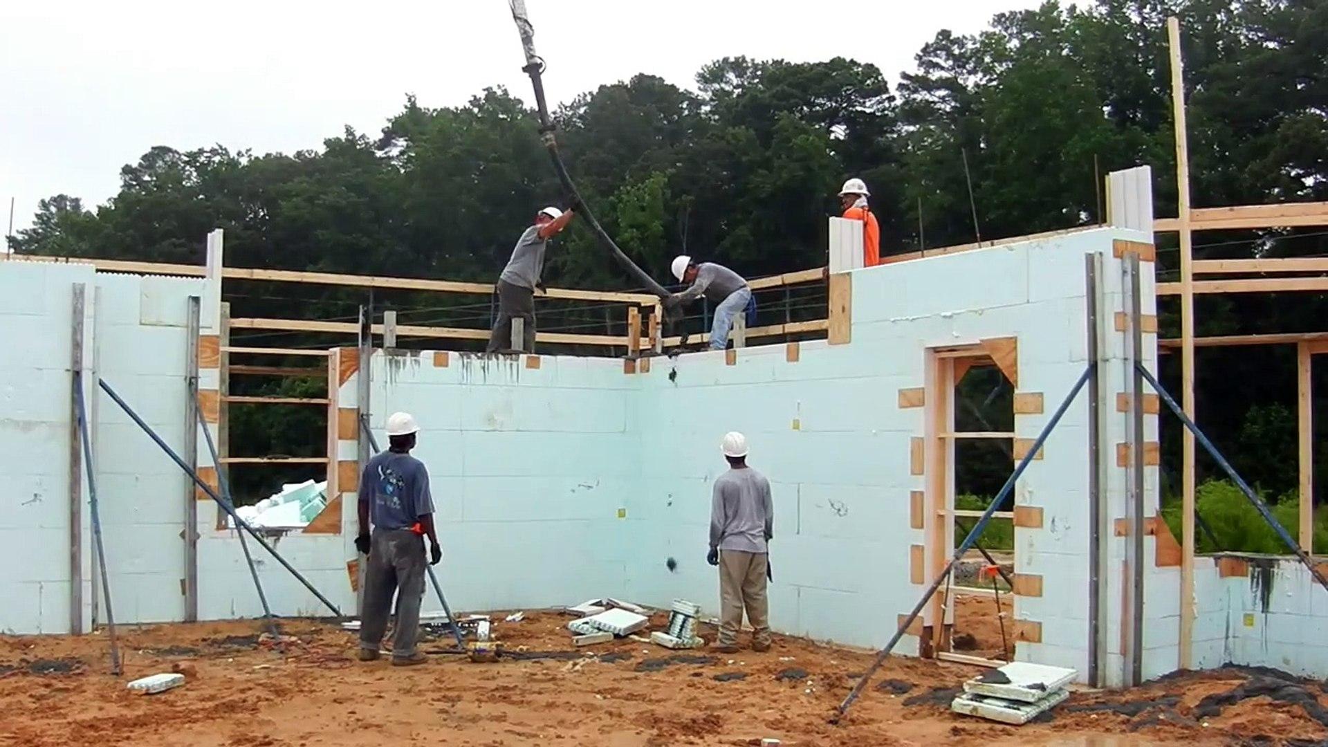 Goldsboro VA-CBOC ICF Wall Pour: Stage One