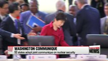 President Park vows to support IAEA against nuclear threats as Nuclear Security Summit wraps up
