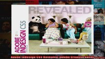 Adobe InDesign CS5 Revealed Adobe Creative Suite