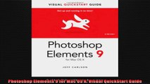 Photoshop Elements 9 for Mac OS X Visual QuickStart Guide