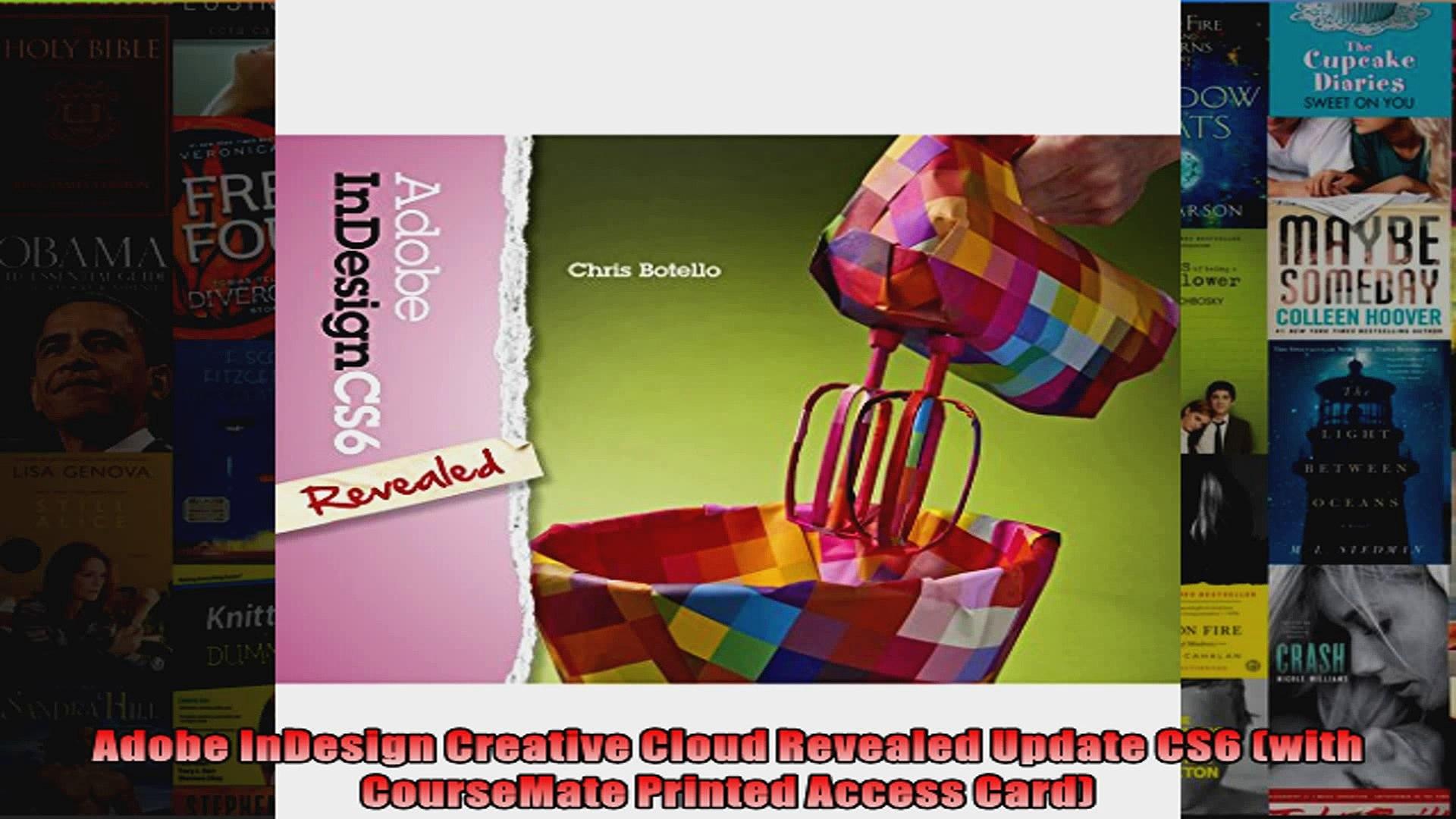 Adobe/® InDesign Creative Cloud Revealed