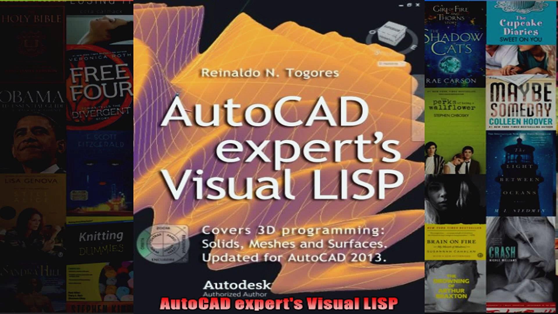 AutoCAD experts Visual LISP