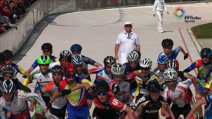 3 pistes 2016 Valence repechage H 3000m Junior A