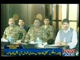 Apex committee expresses satisfaction over progress in Zarb-e-Azb