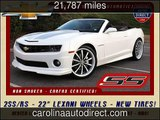 2012 Chevrolet Camaro 2SS Used Cars - Mooresville ,NC - 2016-01-19