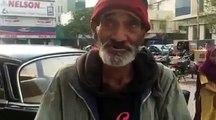 ahsan khan interview on street | Educated poor man on street | Pakistan k adakar ka interview ap rony pai majbor hon gai