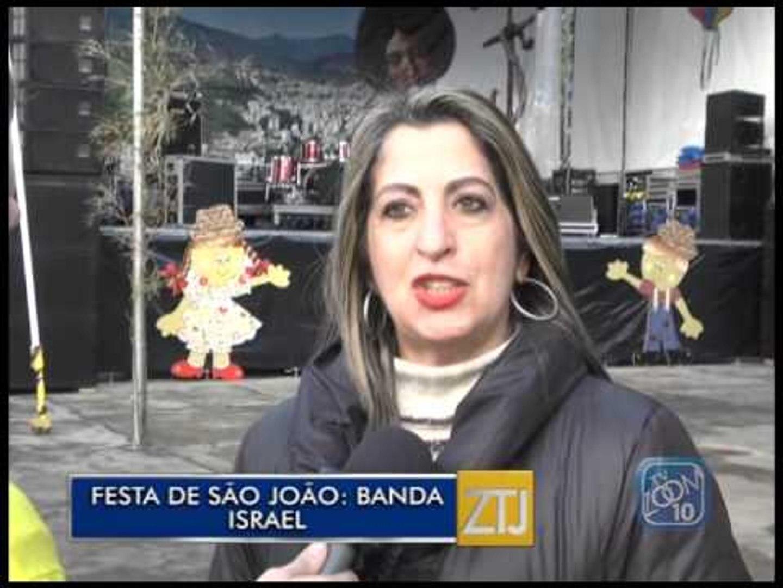 22-06-2015 - SHOW DA BANDA ISRAEL - ZOOM TV JORNAL