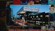 Details in Contemporary Architecture AsBuilt