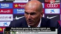 Zinedine Zidane veut encore croire au titre