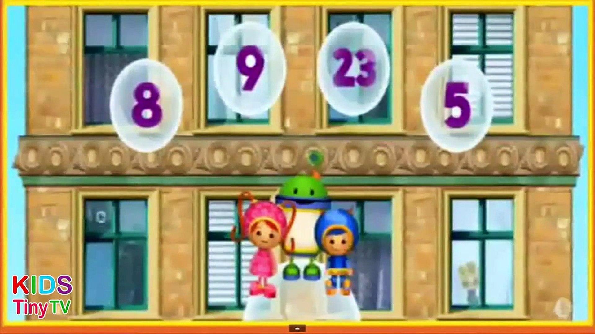 Team UmiZoomi - Purple Monkey Rescue - Kids Tiny TV (Kids Games & Kids Rhymes)