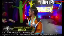 NXT TakeOver Dallas Asuka vs Bayley (NXT women's Championship) Part 1