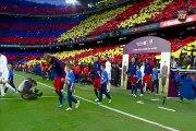 """Johan Cruyff"" tributed by FC Barcelona"