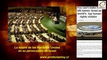 Según la ONU : Israel violaría  Derechos Humanos. [Not. Prof. Sáb 02 Abril 2016]
