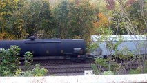 HD: Norfolk Southern H19 with Ex-Conrail leader - 10/19/12