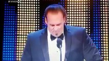 How Sting's WWE Hall of Fame speech should have ended.