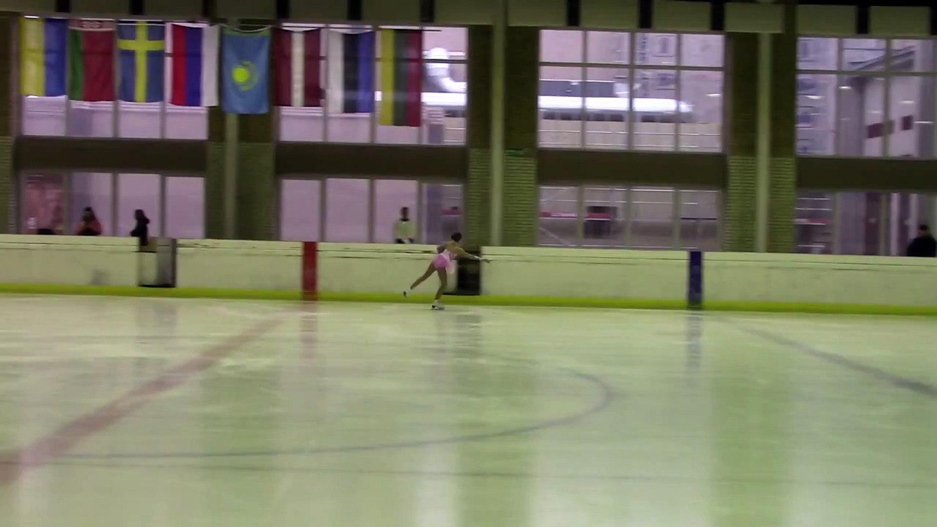 Kaunas Ice Spring Cup 2015  Basic Novice A Girls  ПП 1 Katarina LAT