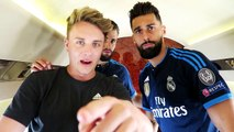 Flying with real Madrid CF manchester united fc gamedayplus episode 1 adidas football