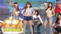 "Banana Sundae: Jessy, Sunshine and Aiko perform ""Boom,Boom,Boom,Boom"" by Vengaboys"