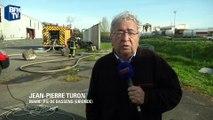 """Explosions à Bassens: """"Deux pompiers ont légèrement été blessés"""", indique le maire"""