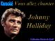 """Karaoké Johnny Halliday """"L'idole des jeunes"""""""