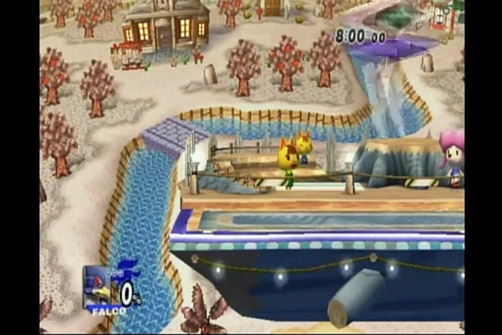 Zero Ping: DJ Jack (Falco) & Waft-OLi (Falco) vs. Kith (Pokemon Trainer) & Gan (Link) 5
