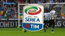 1-0 Bruno Fernandes Penalty Goal Italy  Serie A - 03.04.2016, Udinese Calcio 1-0 SSC Napoli